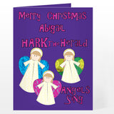 Personalised Angels Card