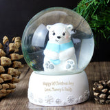 Personalised Polar Bear Snow Globe - OUT OF STOCK
