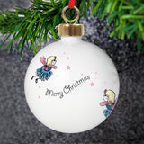 Personalised Funky Fairy Bauble