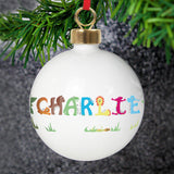 Personalised Animal Bauble