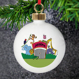 Personalised Zoo Bauble