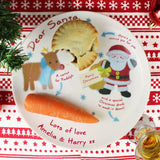 Personalised Felt Stitch Friends Mince Pie Plate