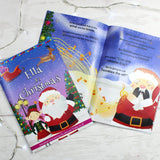 "Personalised Girls """"It's Christmas"""" Story Book, Featuring Santa and his Elf Twinkles"
