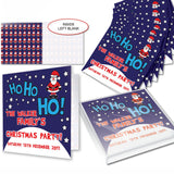 Personalised Christmas Santa Invitations