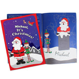 Personalised 'It's Christmas' Elf Story Book