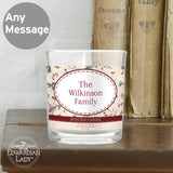 Personalised Country Diary Midwinter Scented Jar Candle