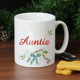 Personalised Classic Christmas Mug