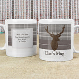 Personalised Highland Stag Mug