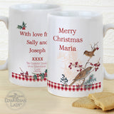 Personalised Country Diary Midwinter Slim Mug