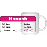Personalised Office & Home Mug