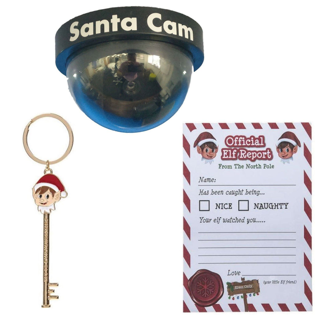 Santa Cam Elf Key Amp Elf Letter Bundle Personalised