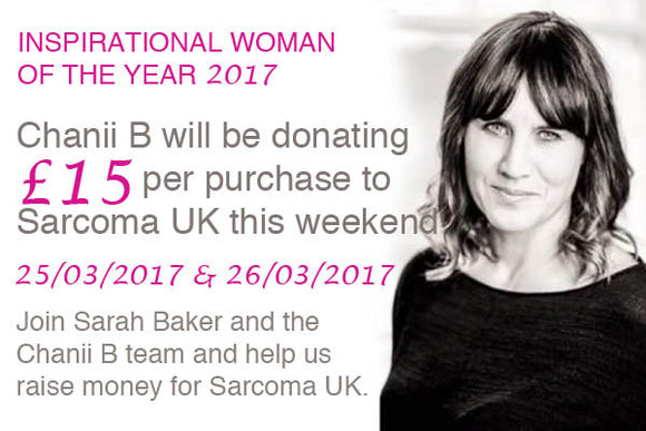 Introducing Sarah Baker - Chanii B's Inspirational Woman of the Year 2017