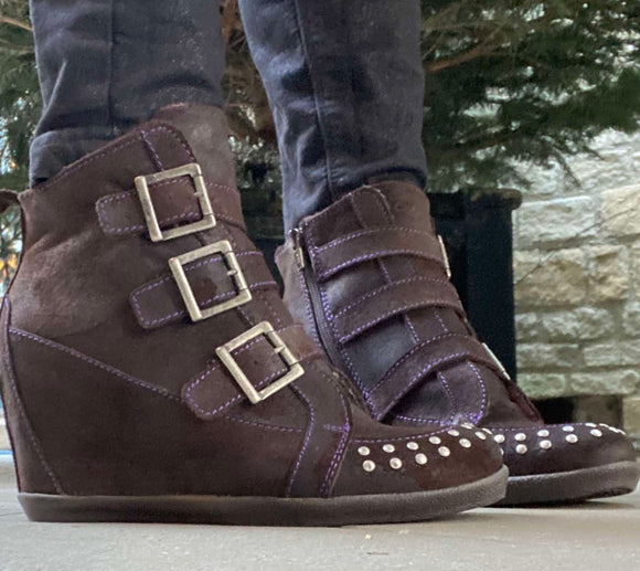 Ajourd Oui-BROWN Boot-LAST PAIR 38!