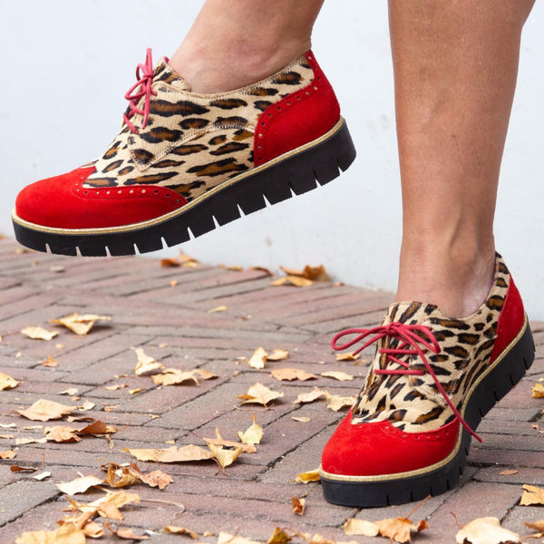 Bolt - Red Leopard