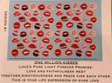 Scarf -One Millon kisses