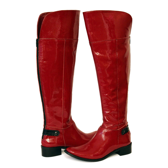 St Germaine - Red Patent Boot