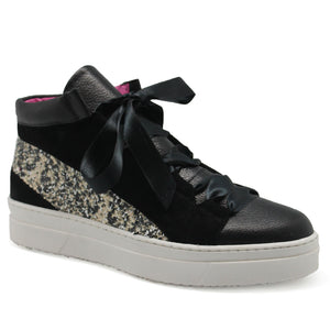 Patin - Black/White Sequin