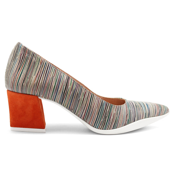 Lu Lu - Natural Stripe/Orange