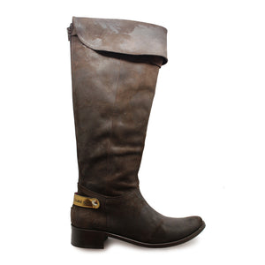 "St Germaine - Brown Leather 20"" wide calf ONLINE EXCLUSIVE"