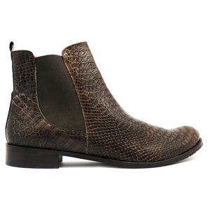 Taille - Brown Crocodile