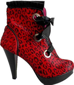 Vavoom- Red leopard