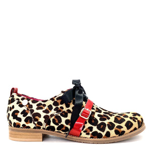 Excuse Moi - Leopard cow hide