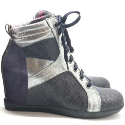 Solitude - Pewter Blue- LAST PAIRS 36 & 37!