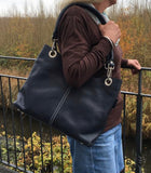Daily - navy handbag