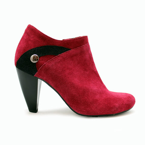 Rose - Red Suede