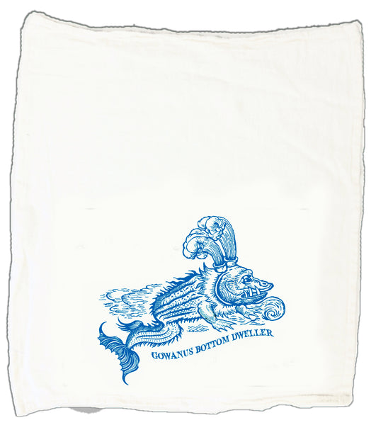 Gowanus Bottom Dweller Tea Towel