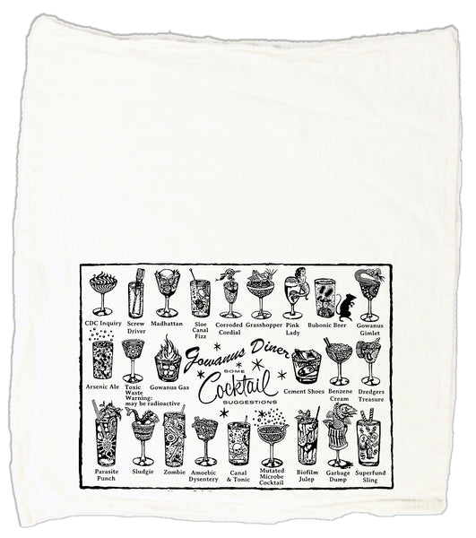 Gowanus Diner Cocktail Tea Towel