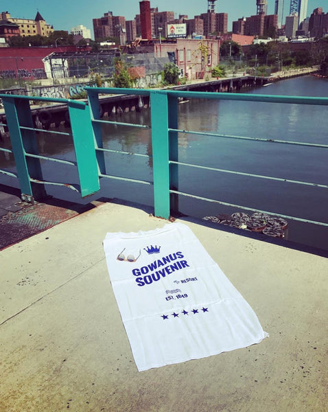 Beach Towel: Gowanus Souvenir Resort