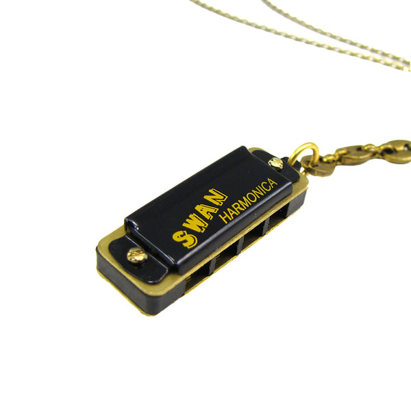 Mermaid Harmonica Necklace