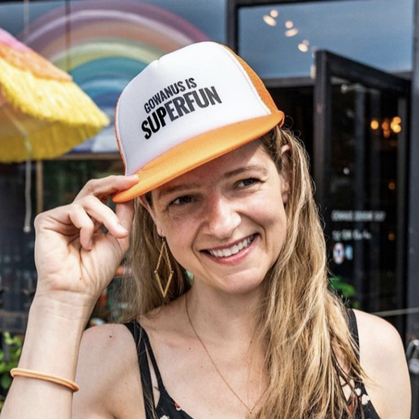 Superfun Neon Trucker Hat