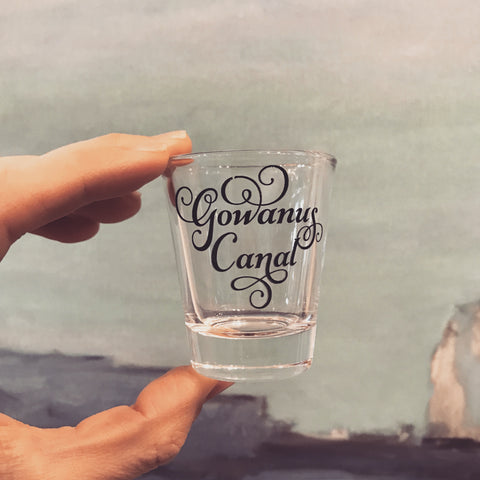 Gowanus Canal Shot Glass