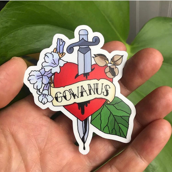 Gownaus Bleeding Heart Sticker