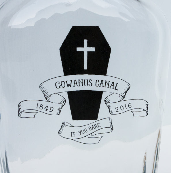 Gowanus Canal Flask (small): If you Dare