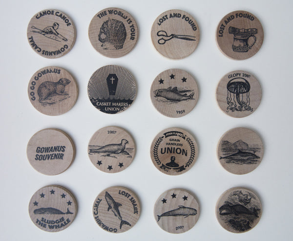 Commemorative Wooden Nickels