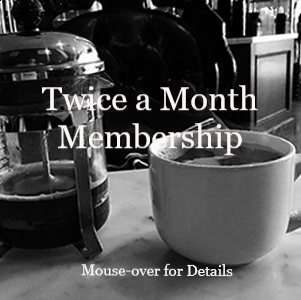 Twice A Month Coffee Drinker - Receive Unique Coffees Twice a Month