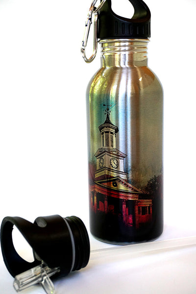 Stainless Steel Water Bottle - College Colors - Julia Springer | convergent media art - 1