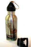 Stainless Steel Water Bottle - Schooner Bay - Julia Springer | convergent media art - 2