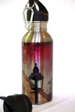 Stainless Steel Water Bottle - The Lamp - Julia Springer | convergent media art - 1