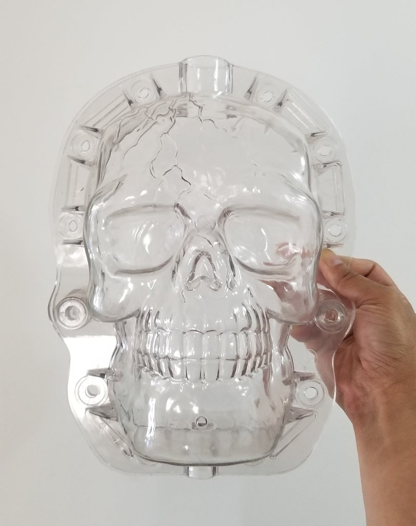 Skull shape pumpkins molds for sale (free shipping)