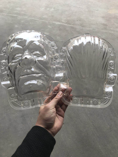 Frankenstein pumpkins shape plastic mold for sale free shipping