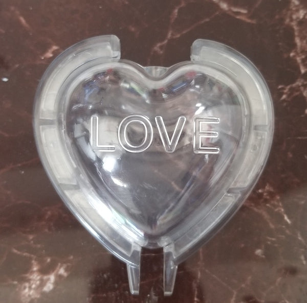 heart apple mold with fast locking pin
