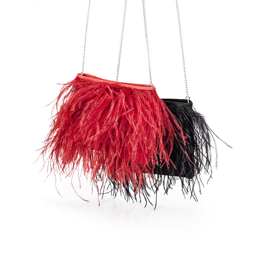 RH Fancy Feather Bag - Karoo Classics