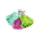 Beaded Feather Keyring - Karoo Classics