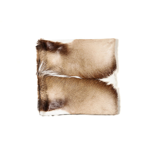 Springbok Hide Cushion Cover (Medium) - Karoo Classics