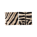 Zebra Hide Cushion Cover (Medium)