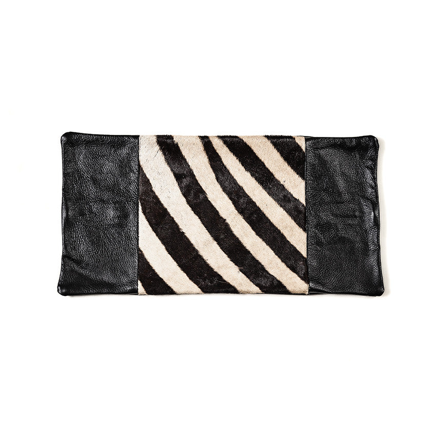 Zebra Hide Cushion Cover (Small)